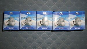 GU-10 Halogen Reflector Bulbs, 5 Pk., USA CAL Lighting, 3000K