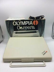 Olympia AG, Carrera, Typewriter, Daisy Wheel, Portable System, circa 1989
