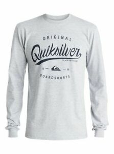 QUIKSILVER MENS MOUNTAIN AND WAVE MENS LONG SLEEVES T SHIRT