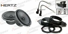 """Hertz MPX165.3 PRO 6.5"""" Speaker Package With Speaker Adapter and Harness"""