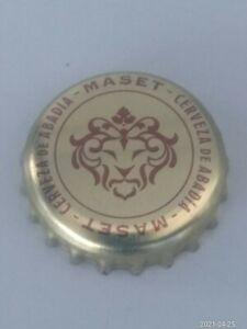 Chapa de Cerveza Maset del Lleo. Bottle cap Birra beer Biere Tappo tapita .