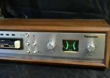 Panasonic RS-806US STEREO 8 TRACK PLAYER RECORDER TESTED  CLEAN