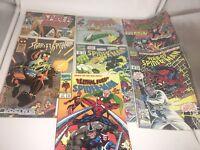 Lot of 7 Comic Marvel Comics Spider-Man (6) /Spider Women (1) 1992-1993