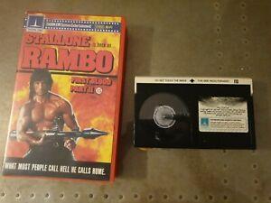Rambo First Blood Part II : Thorn EMI : Betamax video : Ex Rental Version