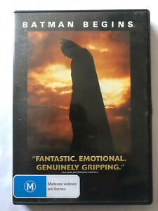 BATMAN BEGINS, CHRISTIAN BALE, MICHAEL CAINE  DVD