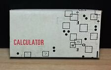 VOE VOESA LC - 5 CALCULATOR - CALCOLATRICE - NUOVA NEW OLD STOCK - Vintage