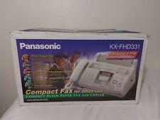 Panasonic KX-FHD331 Compact Plain Paper Fax Machine Copier Telephone