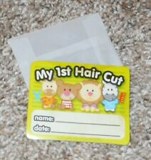 """My First Haircut"" Clipping Saver - Free Shipping"
