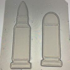 Pistol Gun Bullet Shells Set Flexible Plastic Mold