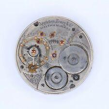 Waltham Pocket Watch 18 Size 17 Jewel A.T. & Co. Movement - LA222