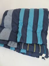 Pottery Barn Teen Laid Back Stripes Quilt TWIN/XL TWIN Multi Color NEW