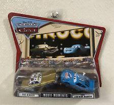 Disney Pixar CARS MOVIE MOMENTS World of Cars TEX Dinoco & Dinoco McQueen