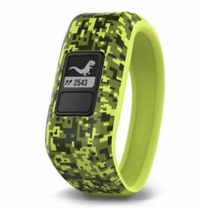 Garmin vívofit jr Kids Fitness Activity Tracker Life Digi Camo Green 1 yr Battry