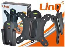 """Staffa per LCD/Plasma Supporto per TV e Monitor da 13"""" a 27"""" 25kg Linq (LI-L017)"""