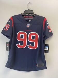 Nike Women's J.J. Watt Houston Texans NFL Navy Rush Limited Football Jersey sz M