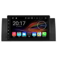 Android 7.1 Quad Core Car Stereo DVD Player GPS Navigation For BMW 5 E39 Series
