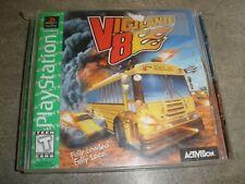 Vigilante 8 (Sony PlayStation 1, 1998) Green