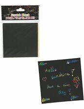 Kratzbilder Kratzpapier 24 Blatt Set Basteln Malen Kindergeburtstag Schulanfang