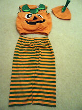 Kids Bambino Baby Halloween Carino Zucca Costume - 1 - 2 anni