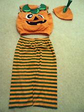 Kids Toddler Baby Halloween Cute Pumpkin Fancy Dress Costume - 1 - 2 Years