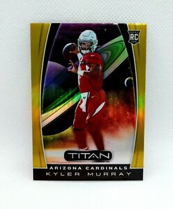 2019 Panini Chronicles Kyler Murray Rookie Card Titan Gold Parallel 02/10 SP