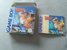 Hammerin Harry Game boy FRG bundle  KIT  Art box+Art manual compatible
