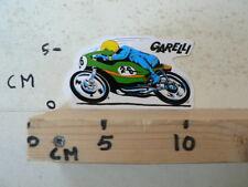 STICKER,DECAL GARELLI NO 26 GREEN BLUE ? ROADRACE MOTO GP