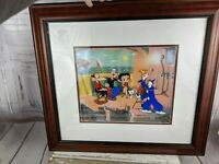 Myron Waldman Popeye animation Cell Art picture Betty Boop Olive Photo Op camera