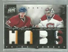 2011-12 Panini Prime Combos Jerseys Patch #50 Blake Geoffrion/Carey Price 02/25