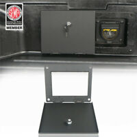 Hooke Road Bed Security Lockbox Extra Storage for Toyota Tacoma 2005-15(2nd Gen)