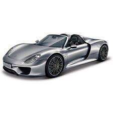 Coche de automodelismo y aeromodelismo color principal plata Porsche