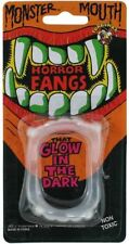 Vampire Fangs Jokes Horror Glow in the Dark Halloween Horror Novelty Party Fangs