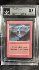 MTG Graded Magic Card: Alpha: BGS 8.5: Lightning Bolt