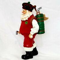 Clothtique Possible Dreams Golfing Santa Claus Golf Bag & Clubs Christmas sports