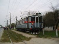 PHOTO  ROMANIA ARAD TRAM  RESTORED 1910 GANZ CAR view 8