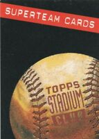 FREE SHIPPING-MINT-1994 TOPPS Stadium Club SUPERTEAMS 4