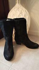 Tony Bianco Block Heel Suede Boots for Women