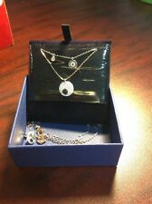 Swarovski Cry Wishes: Pendant Evil Eye Necklace, 5272243, NWT