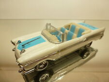 DINKY TOYS DY27 CHEVROLET BELAIR CONVERTIBLE - ROCK 'n ROLL 1:43 very rare - VG