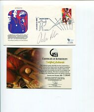 Andrew Rock Olympic Gold Track And Field Runner Signed Autograph FDC COA