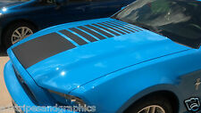 MUSTANG FADED Strobe CENTER HOOD Stripe Decal Stripes 05 07 09 2010 2012 2013
