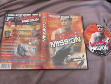 Laser mission: agent spécial de B.J. Davis avec Brandon Lee, DVD, Action, RARE!!