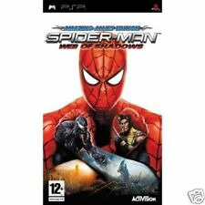 SPIDER-MAN AMAZING ALLIES WEB OF SHADOWS PSP GAME brand new & Sony sealed UK!