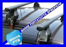 BARRE PORTATUTTO FORD FIESTA 5P >2001 PORTABAGAGLI PORTAPACCHI NERE NUOVE MENABO