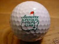 Augusta National Golf Ball New