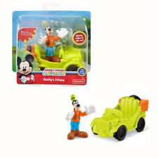 Disney Mickey Clubhouse Goofy's Jalopy Vehicle Play Set Toy 2+ Fisher-Price
