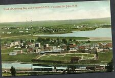Posted 1911 View of the Head of Courtney Bay, St.John, N.B, Canada