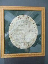 18th Century Cross Stitch 1784, English?, by Mary Aldridge, Poole School
