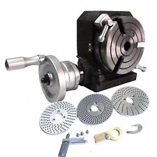 Rotary Table HV4 of High Precision&Smooth Rotation of Hand wheel+INDEXING PLATE
