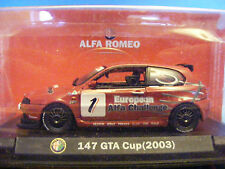 Alfa Romeo 147  in Red GTA Cup 2003  Product in 1:43rd. Scale Alfa Collection